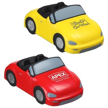 Customizable Convertible Car Stress Balls