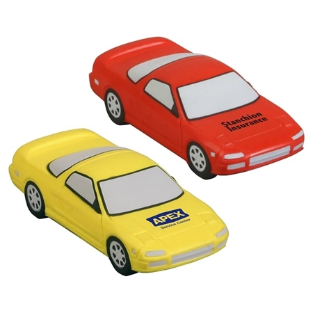 Picture of Custom Printed Sports Car Stress Ball