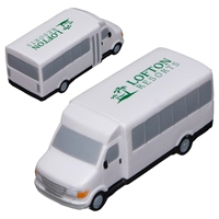 Picture of Custom Printed Shuttle Bus Stress Ball