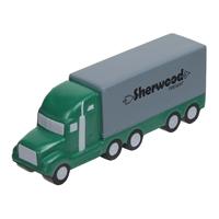 Personalized Semi Truck Stress Ball