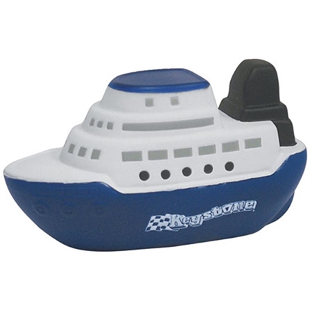 Promotional Cruise Boat Stress Ball