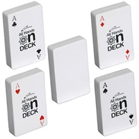 Picture of Custom Printed Deck Of Cards Stress Ball