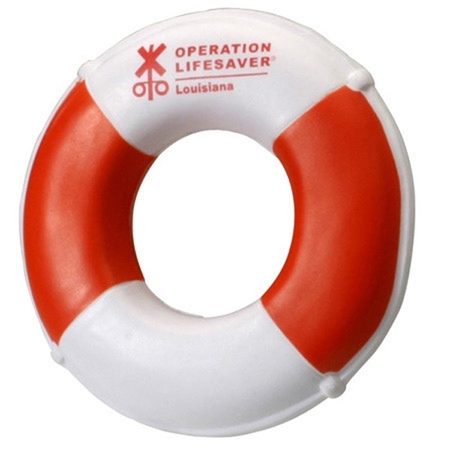 Picture of Custom Printed Life Preserver Stress Ball