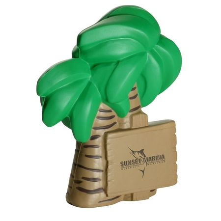 Picture of Custom Printed Palm Tree Stress Ball