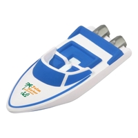 Picture of Custom Printed Speedboat Stress Ball