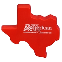 Picture of Custom Printed Texas Shape Stress Ball