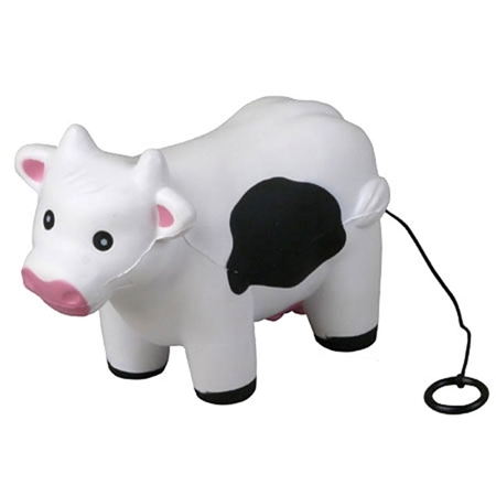 Picture of Custom Printed Vibrating Milk Cow Stress Ball
