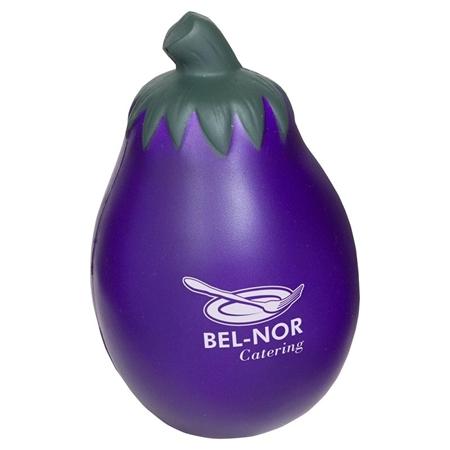 Promotional Eggplant Stress Ball
