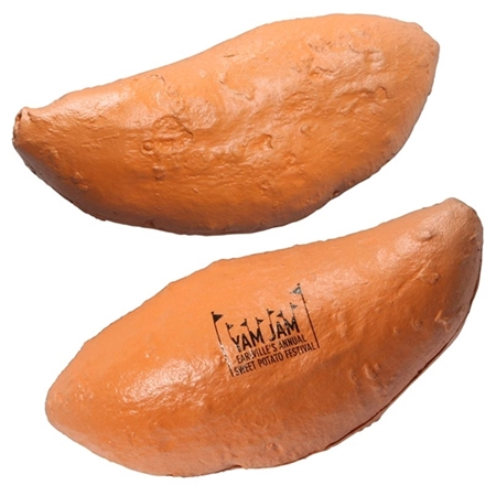 Picture of Custom Printed Sweet Potato Stress Ball
