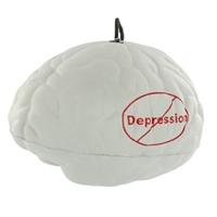 Promotional Brain Yo-Yo Bungee Stress Ball