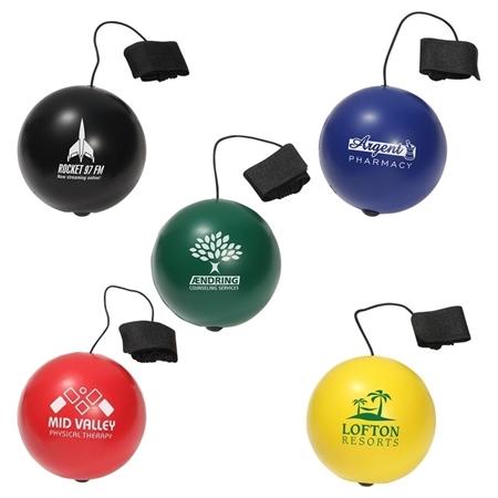 Customizable Yo-Yo Bungee Stress Balls