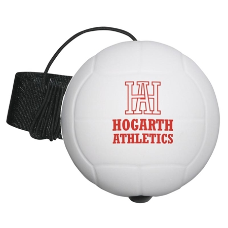 Promotional Volleyball Yo-Yo Stress Ball