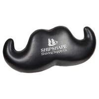 Picture of Custom Printed Handlebar Mustache Stress Ball
