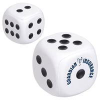 Promotional Dice Stress Ball