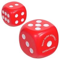 Custom Dice Stress Ball