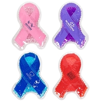 Picture of Custom Printed Awareness Ribbon Hot/Cold Pack