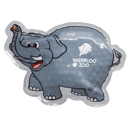 Picture of Custom Printed Elephant Hot/Cold Pack