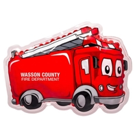 Picture of Custom Printed Fire Truck Hot/Cold Pack