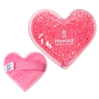 Personalized Plush Heart Hot/Cold Packs