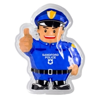 Picture of Custom Printed Police Officer Hot/Cold Pack