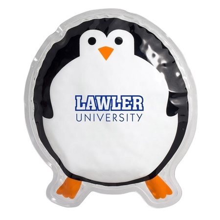 Picture of Custom Printed Round Penguin Hot/Cold Pack