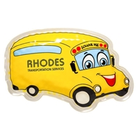 Picture of Custom Printed School Bus Hot/Cold Pack