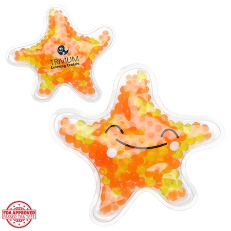 Picture of Custom Printed Starfish Gel Pack