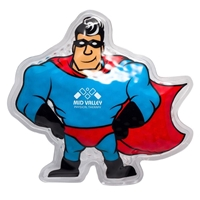 Picture of Custom Printed Super Hero Hot/Cold Pack