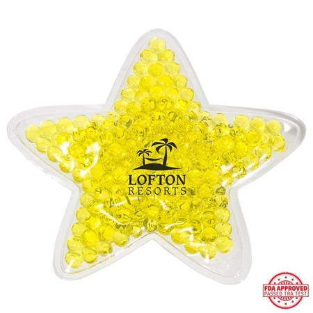 Picture of Custom Printed Star Hot/Cold Pack
