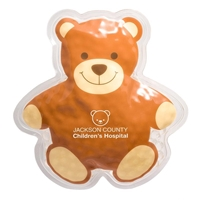 Picture of Custom Printed Teddy Bear Hot/Cold Pack