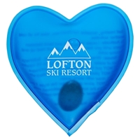 Heart Reusable Magic Hand Warmer with Logo