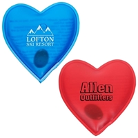 Promotional Heart Reusable Magic Hand Warmer