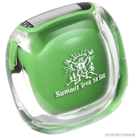 Pedometer with logo