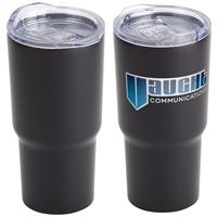 Black Belmont Vacuum Insulated Stainless Steel Travel Tumbler