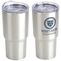 Imprinted Belmont Vacuum Insulated Stainless Steel Travel Tumbler