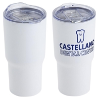 Belmont Vacuum Insulated Stainless Steel Travel Tumbler With Your Logo