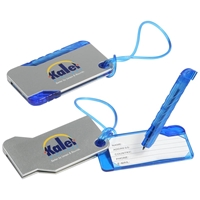 Picture of Custom Printed Hideaway Luggage Tag And Pen