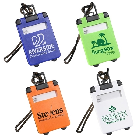 Picture of Custom Printed Travel Tote Luggage Tag
