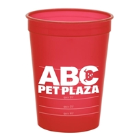 Picture of Custom Printed 16 oz Pet Food Cup with Measures