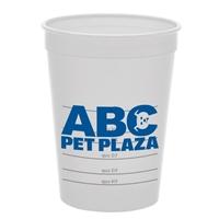 Branded Pet Food Cup
