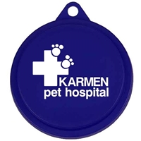 Pet Food Can Lid with Logo