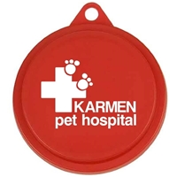 Imprinted Pet Food Can Lid with Company Logo