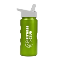 Picture of Custom Printed Mini Peak - 22 Oz. Flip Straw Metalike Bottle