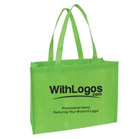"Non-woven Tote - 16""W x 12""H x 6""D printed with your logo"