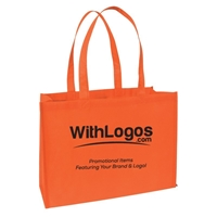 "Non-woven Tote - 16""W x 12""H x 6""D with your logo"