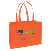 """Promotional Full Color Standard Non-woven Tote - 16""""W x 12""""H x 6""""D"""