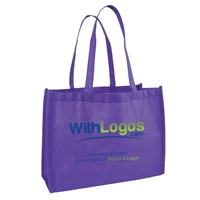 """Branded Full Color Standard Non-woven Tote - 16""""W x 12""""H x 6""""D"""