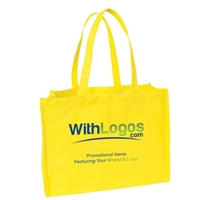 "Picture of Full Color Standard Non-woven Tote - 16""W x 12""H x 6""D"