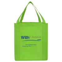"""Picture of Full Color Jumbo Non-woven Grocery Tote - 13""""W x 15""""H x 10""""D"""