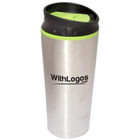 Picture of Custom Printed 15 oz. Color Block Travel Tumbler